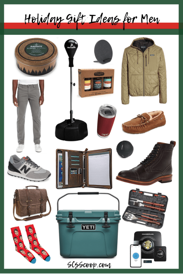 The Best Holiday Gift Ideas for Men - holiday gift guides to help you shop for the hardest people on your shopping list. I rounded up tons of holiday gift ideas for men. These gifts range from $15 to $200. I focused on finding practical products that a wide range of men would be happy to receive.