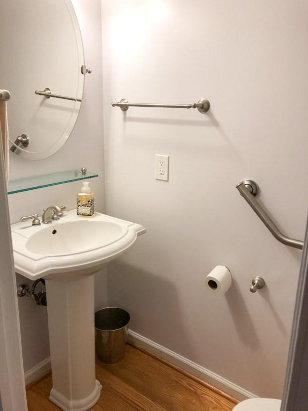 DIY Powder Room Remodel: Before & After - SCsScoop.com