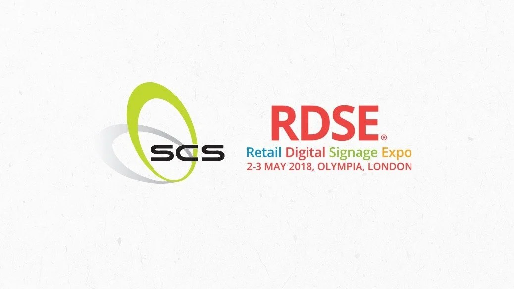 SCS Exhibiting at Retail Design Expo 2018