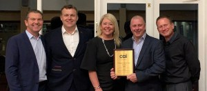 SCS Technologies - team cai award