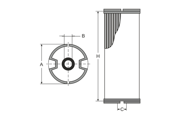 SC 7048 P Fuel filter SCT