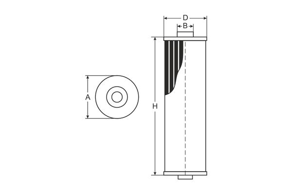 SC 7067 P Fuel filter SCT