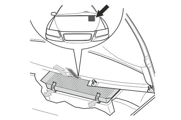 SAK 266 Filter, interior air SCT
