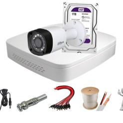 Trọn bộ 1 mắt camera 1.0MP Dahua HAC-HFW1000RP