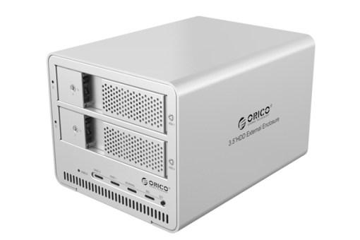 Hộp ổ cứng 3.5inch 2 khe cắm Orico 9528RU3