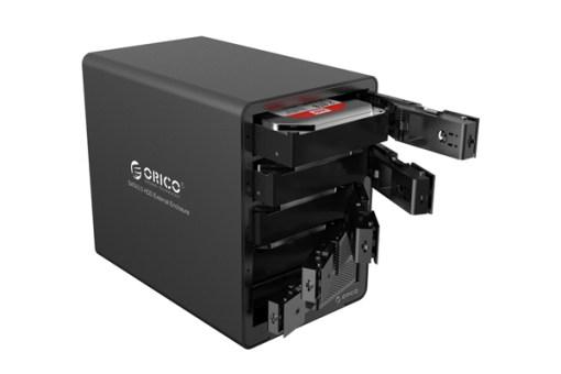 Hộp ổ cứng 3.5inch 5 khe cắm Orico 9558RU3