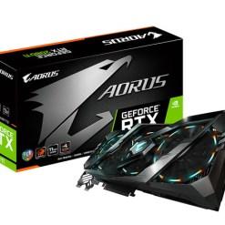 VGA Gigabyte Aorus GeForce RTX 2080Ti 11GB GDDR6 (GV-N208TAORUS-11GC)