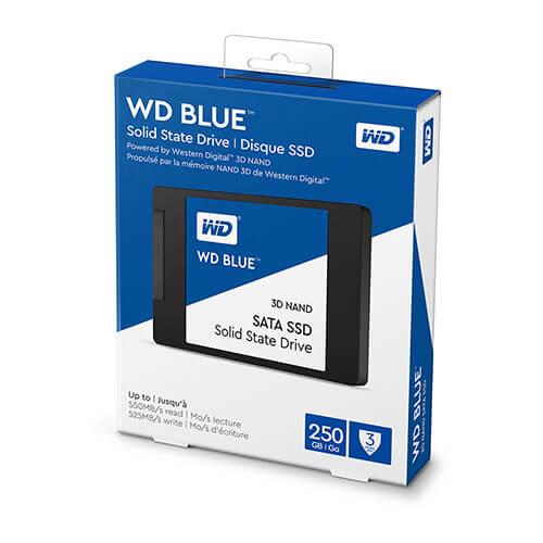 """SSD Western Blue 250GB Sata3 2.5"""" WDS250G2B0A"""
