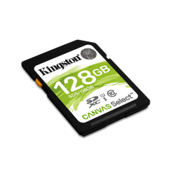 Thẻ Nhớ Kingston 128GB SDHC Canvas Select - SDS/128GB