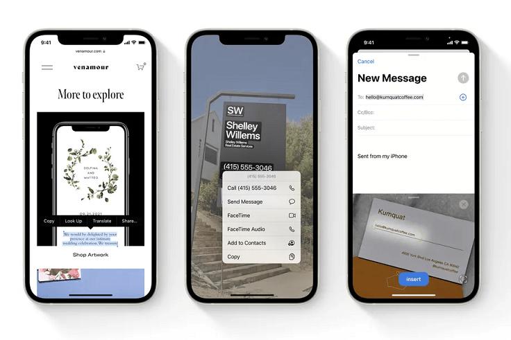 Cách sử dụng tính năng Live Text mới của iOS 15