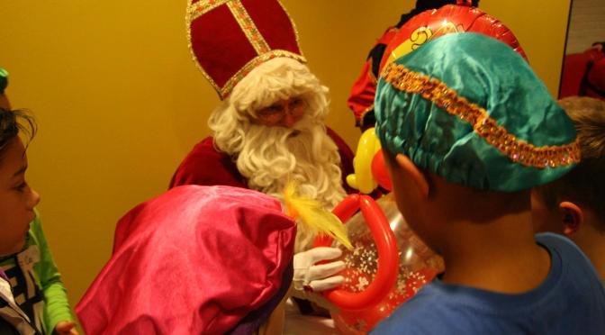 Sinterklaas op bezoek bij Sc 't Zand