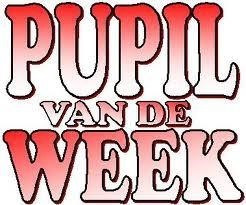 pupil van de week.