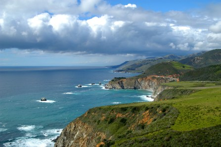 Monterey Bay National Marine Sanctuary stretches along 276 miles of central California coastline and includes iconic areas like Big Sur. In this region, enjoy dive sites like Soberanes Point, Jade Cove and Partington Cove. (Photo: Robert Schwemmer/NOAA)