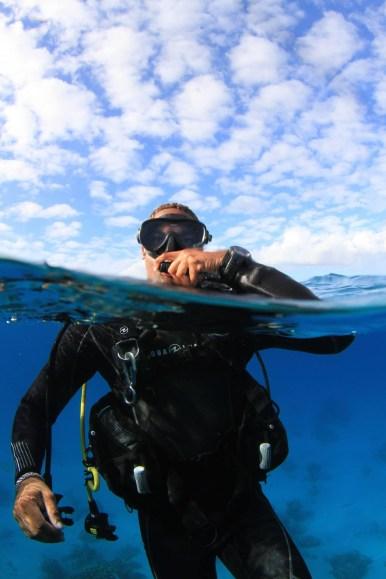 Surface Survival While Scuba Diving