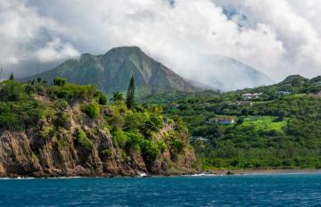Montserrat's Soufriere Hills roared back to life in 1995, burying most of the southern portion of the island under a thick coat of lava and ash over the course of 20 years.