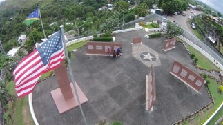 The Guadalcanal American Memorial was dedicated in 1992 as a tribute to American and Allied troops who lost their lives in the Guadalcanal Campaign. (Image courtesy of Solomons Scouts and Coastwatchers Trust)