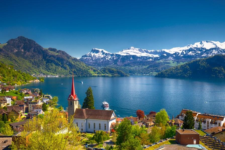 Dive Site Lake Lucerne Scuba Diver Life