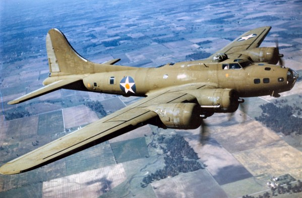 Boeing B-17E. (U.S. Air Force photo)