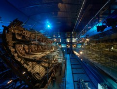 The reconstructed Mary Rose in Weston Ship Hall (Photo credit Hufton+Crow©)
