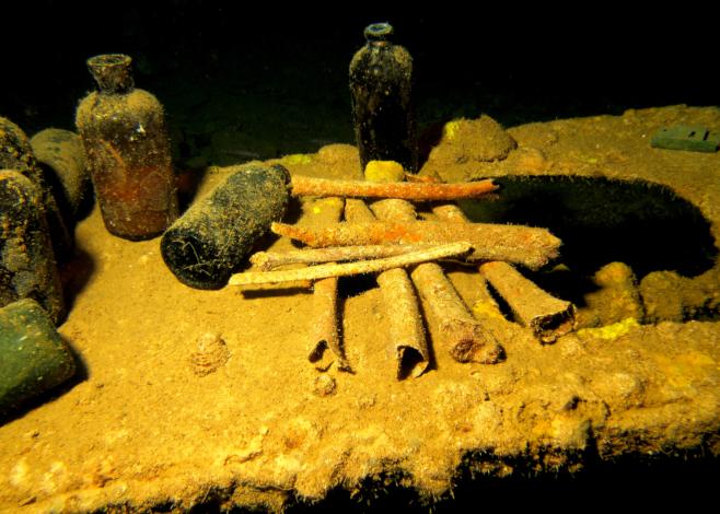 Wreck Dives in Chuuk Lagoon