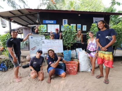TDC has adopted Green Fins ideology as part of their everyday life. Credit: Tioman Dive Center