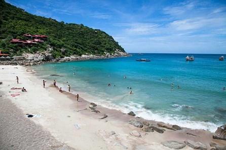 Tanote Beach on Koh Tao