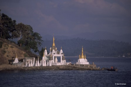 Burmese temple (Credit Mark Strickland)