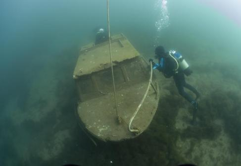 The small wreck in Sundhauser See