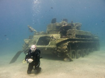 The Tank in Aqaba (Photo credit: Benjamin White)