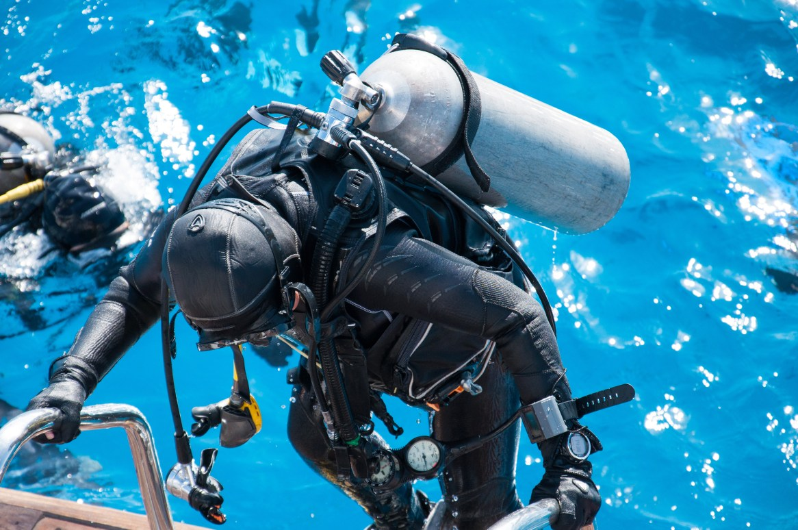fitness for scuba diving