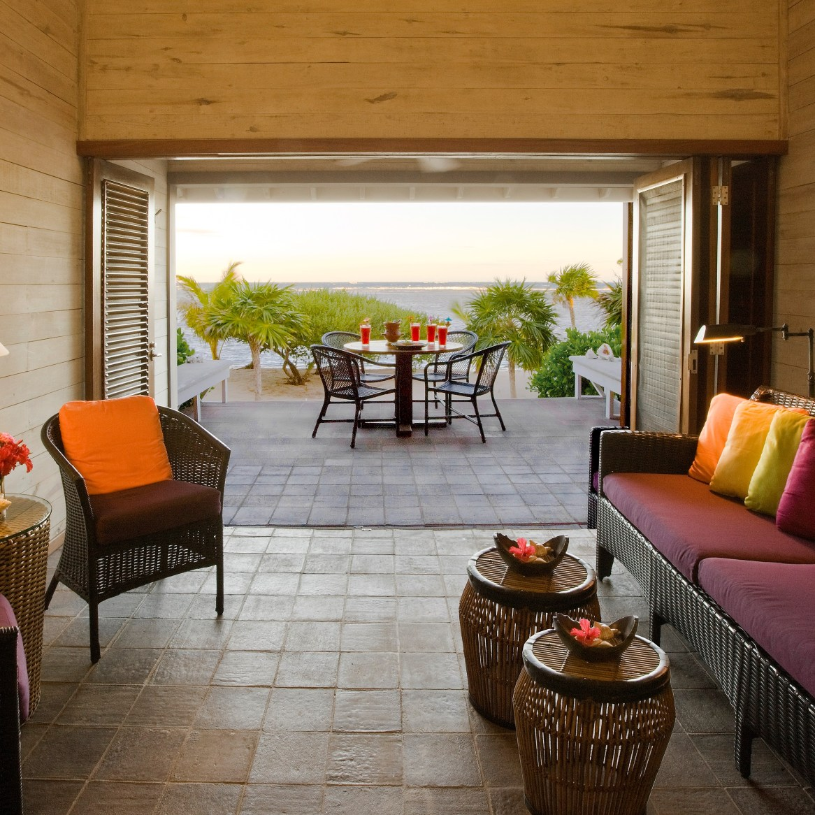 Oceanfront villas at the Resort offer an intimate retreat. (Courtesy Barefoot Cay Resort)