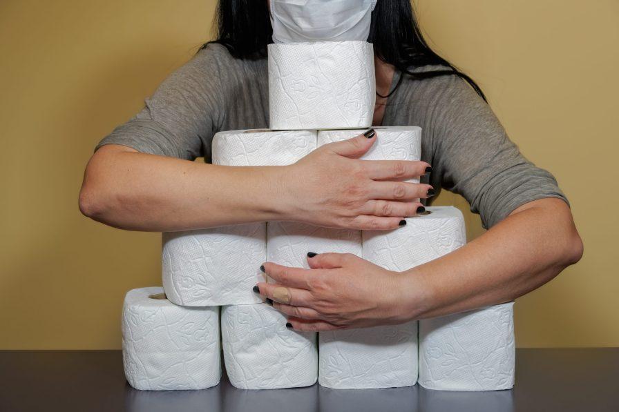 Covid toilet paper stockpiling