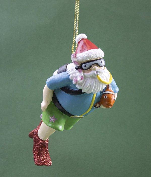 Scuba Diving Christmas Ornament