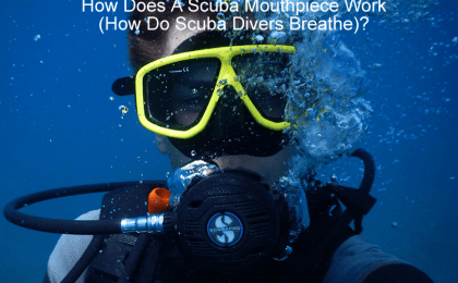 How Does A Scuba Mouthpiece Work - How Do Scuba Divers Breathe