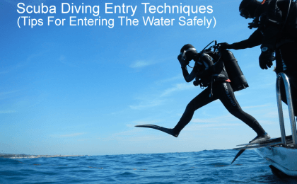 Scuba Diving Entry Techniques