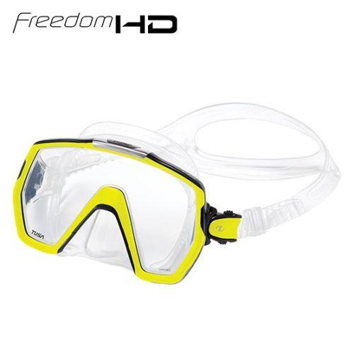 Tusa Freedom HD Maske gul