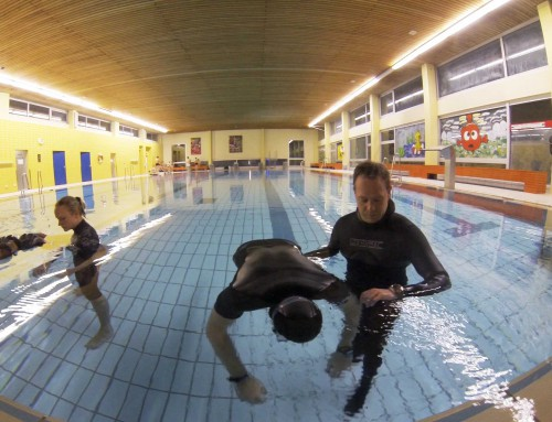 Freediving-Training vom 19.01.2014