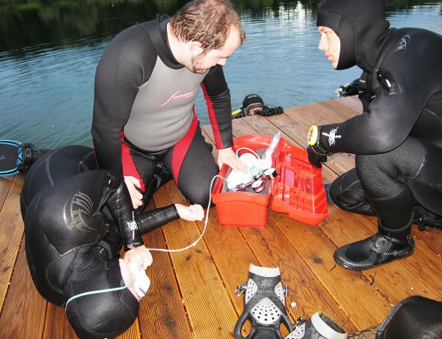 Rescue Diver Ausbildung September 2014