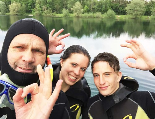 Open Water Kurs im Mai 2015
