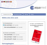 Aqua Med Dive Card