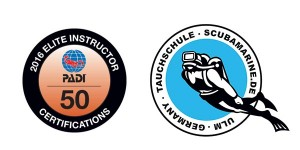 PADI Scubamarine Elite Instructor Certification