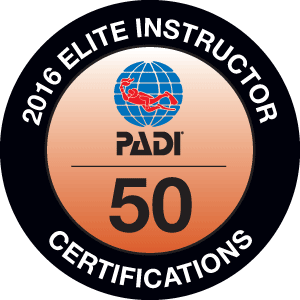 PADI Elite Instructor Certification