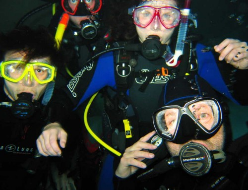 Bilder Open Water Diver Kurs April 2018