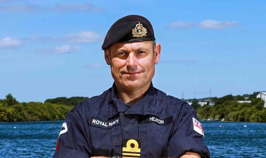 MBE for top Navy diver