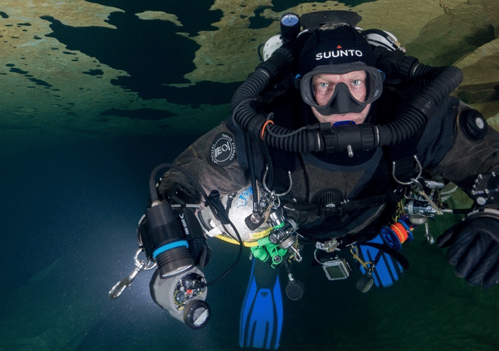 Jeff chats to… TV Presenter Andy Torbet – Part 1: Andy talks about Scuba Diving (Watch Video)