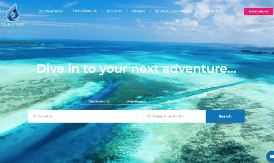 Blue O Two launches online booking facility