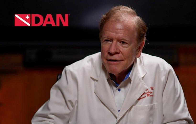 Richard Moon, M.D., named 2021 DAN/Rolex Diver of the Year