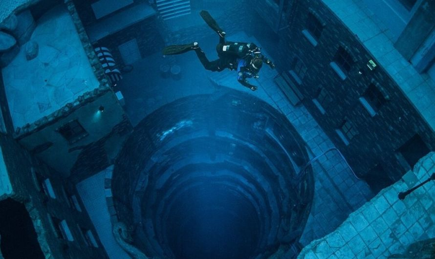 World's Deepest Diving Pool Opens in Dubai