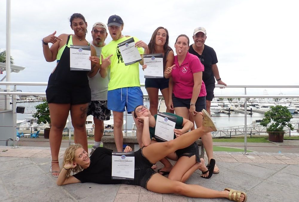 The Fun of teaching a PADI Instructor course