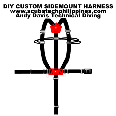 How To Build Your Own DIY Custom Sidemount Harness